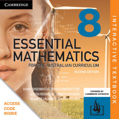 Essential Mathematics for the Australian Curriculum Digital Second Edition  Year 8 (interactive textbook powered by HOTmaths)