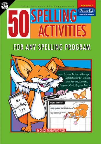 ... 50 Spelling Activities for 8-12 Year Olds. Sale! PR2075