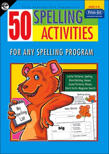 ... 50 Spelling Activities for 5-8 Year Olds. Sale! PR2076