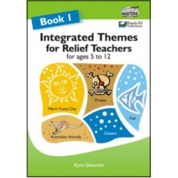 integrated themes for relief teachers book 1 ziggies educational