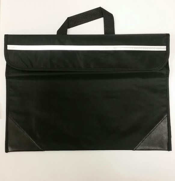 Book Bag 270mm X 380mm Nylon Black
