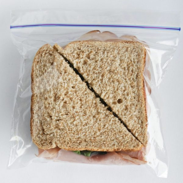 Local Input~ TORONTO, ON: JANUARY 31, 2011 -- A ham sandwich inside a ziploc-style plastic sandwich bag, photographed in the studio at the National Post offices in Toronto, Monday afternoon, January 31, 2011.  (Aaron Lynett / National Post)   //NATIONAL POST STAFF PHOTO
