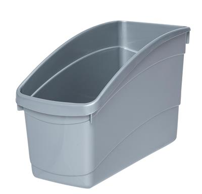 Elizabeth Richards Plastic Book And Storage Tub U2013 Silver