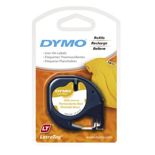 dymo iron on